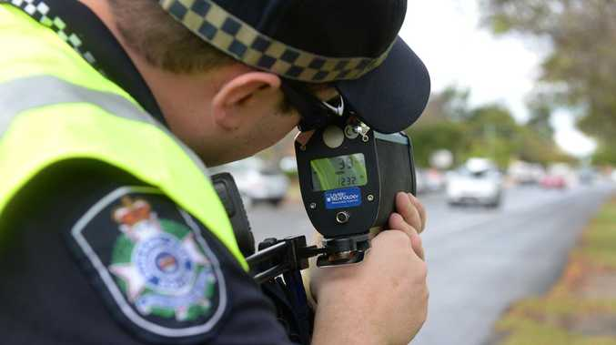 Man busted speeding to help family member with disturbance