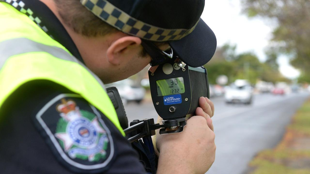 Troy Mark Selwood was caught travelling at 75km/h in a 60km/h zone.