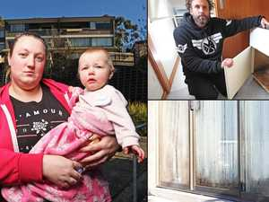 Tenants' tales of mouldy misery in public housing complex