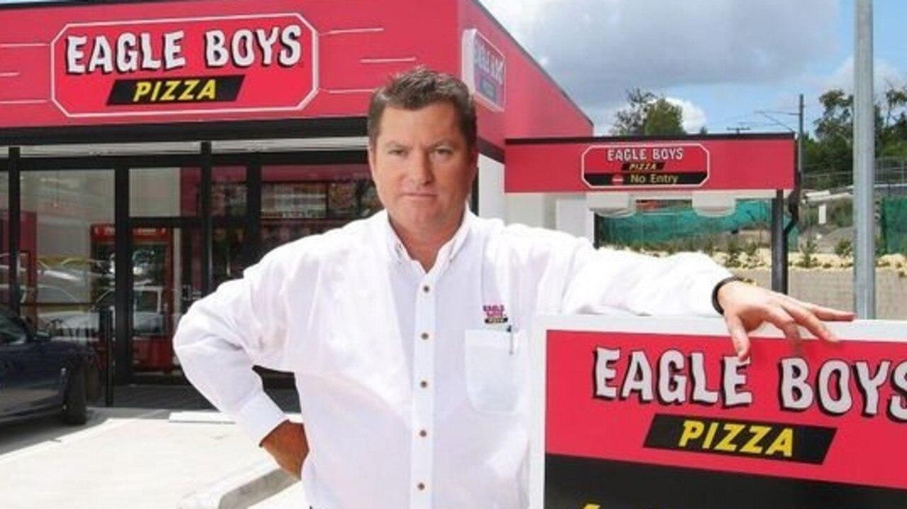Eagle Boys founder Tom Potter