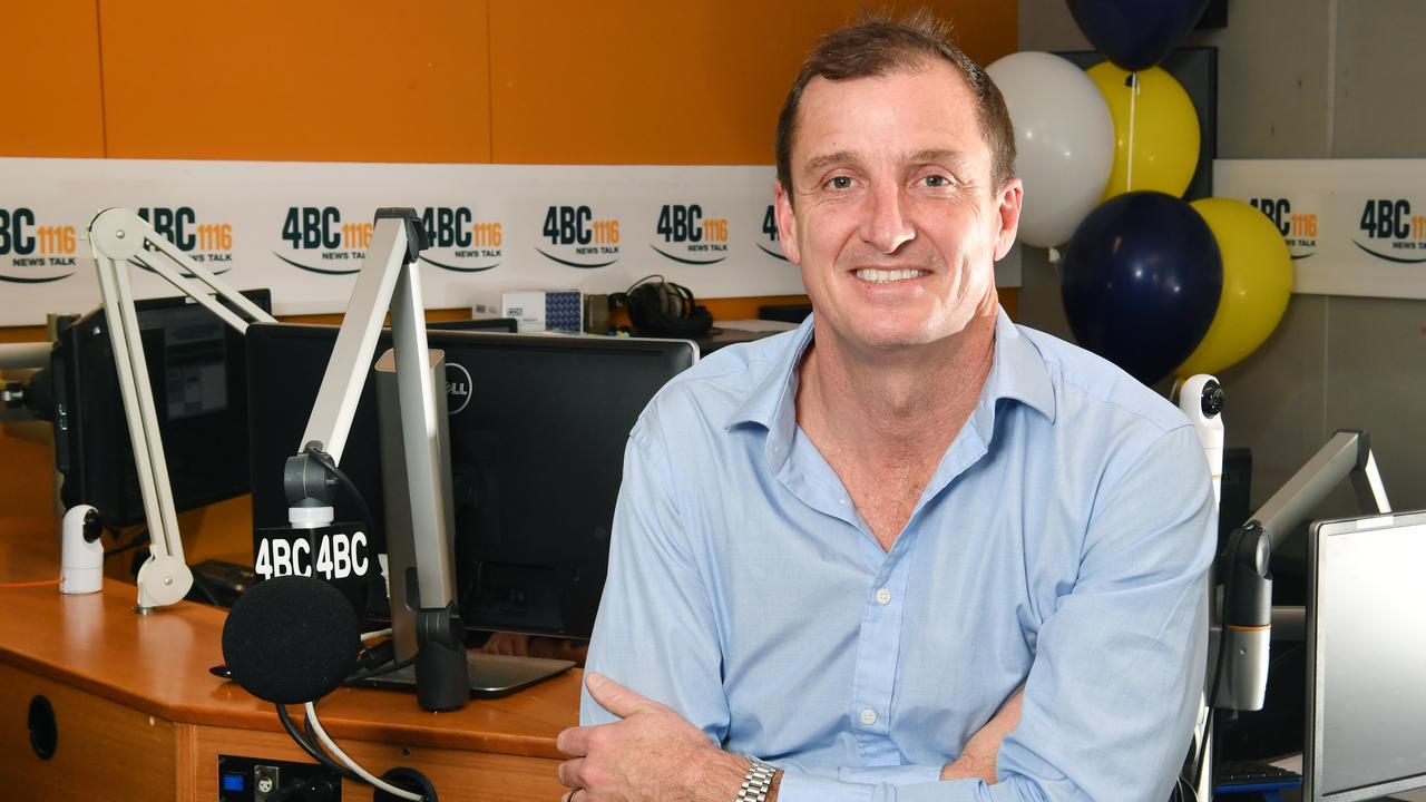 Neil Breen is the host of the 4BC breakfast radio program. Picture: Darren England/AAP