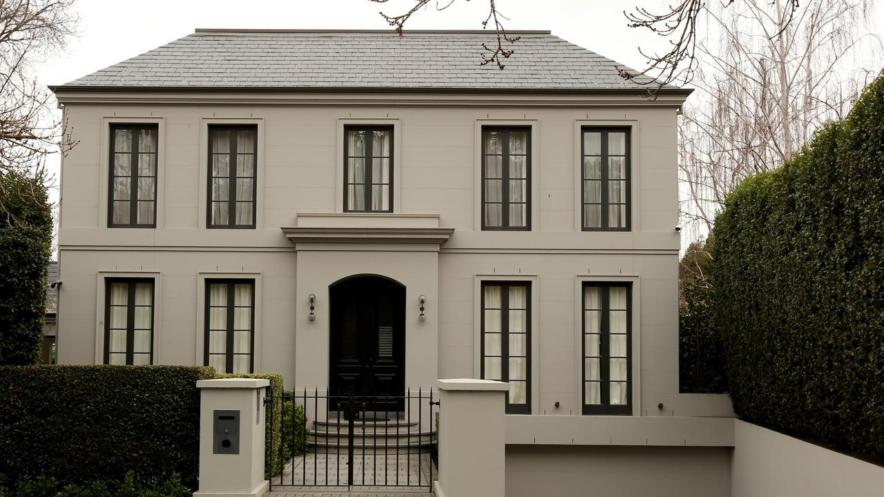 George Calombaris' portfolio included a $4.75m house in Toorak. Stuart McEvoy/The Australian.