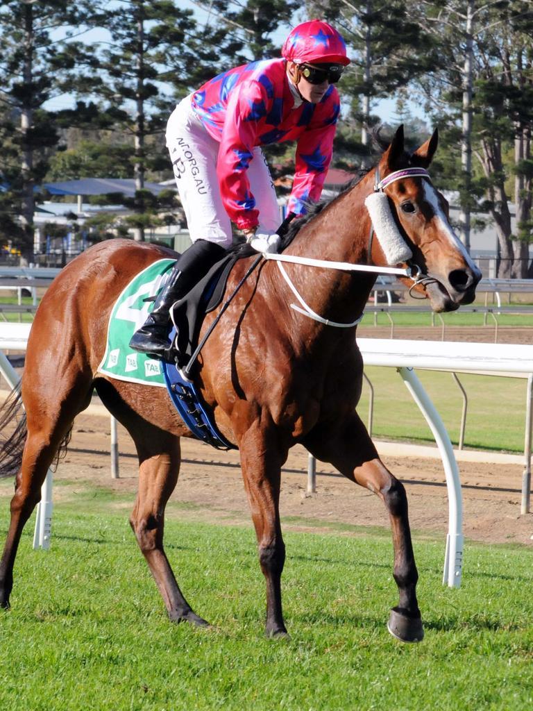 Jockey Jake Bayliss. Picture: Claire Power