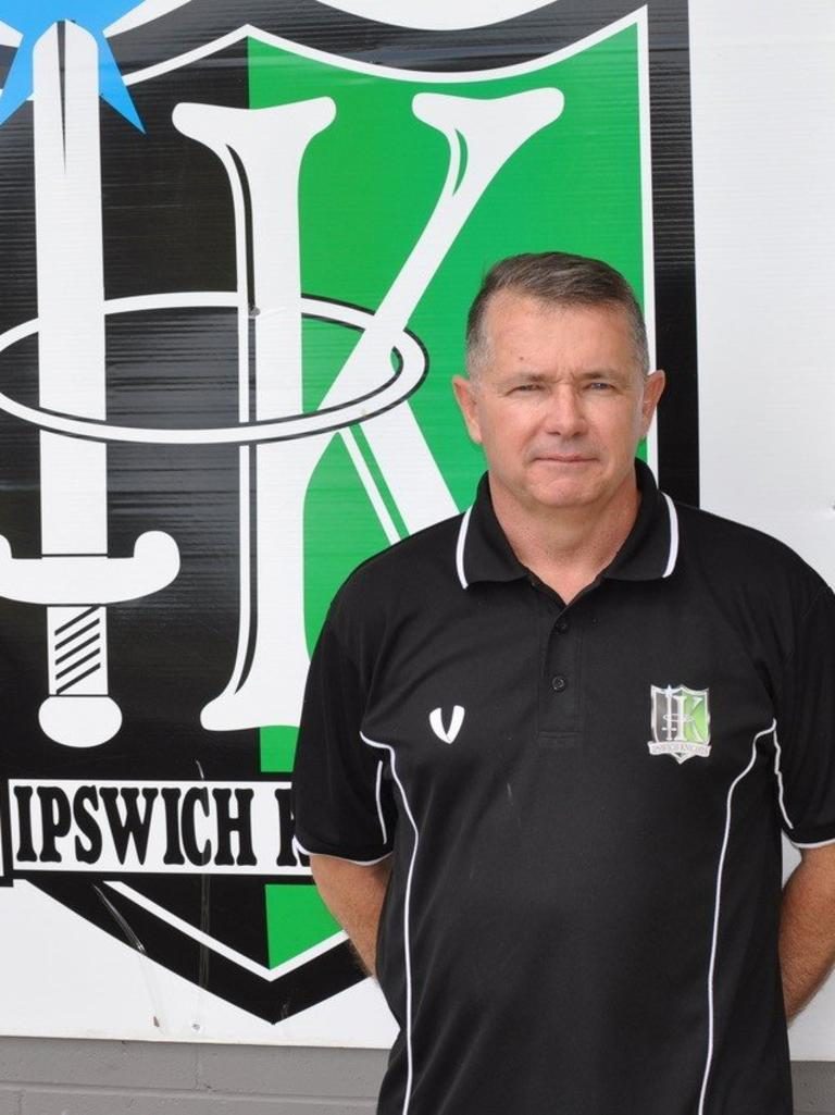 Ipswich Knights head coach Andy Ogden
