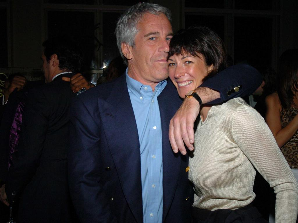 Ghislaine Maxwell is accused of grooming underage girls for the late billionaire Jeffrey Epstein. Picture: Getty Images