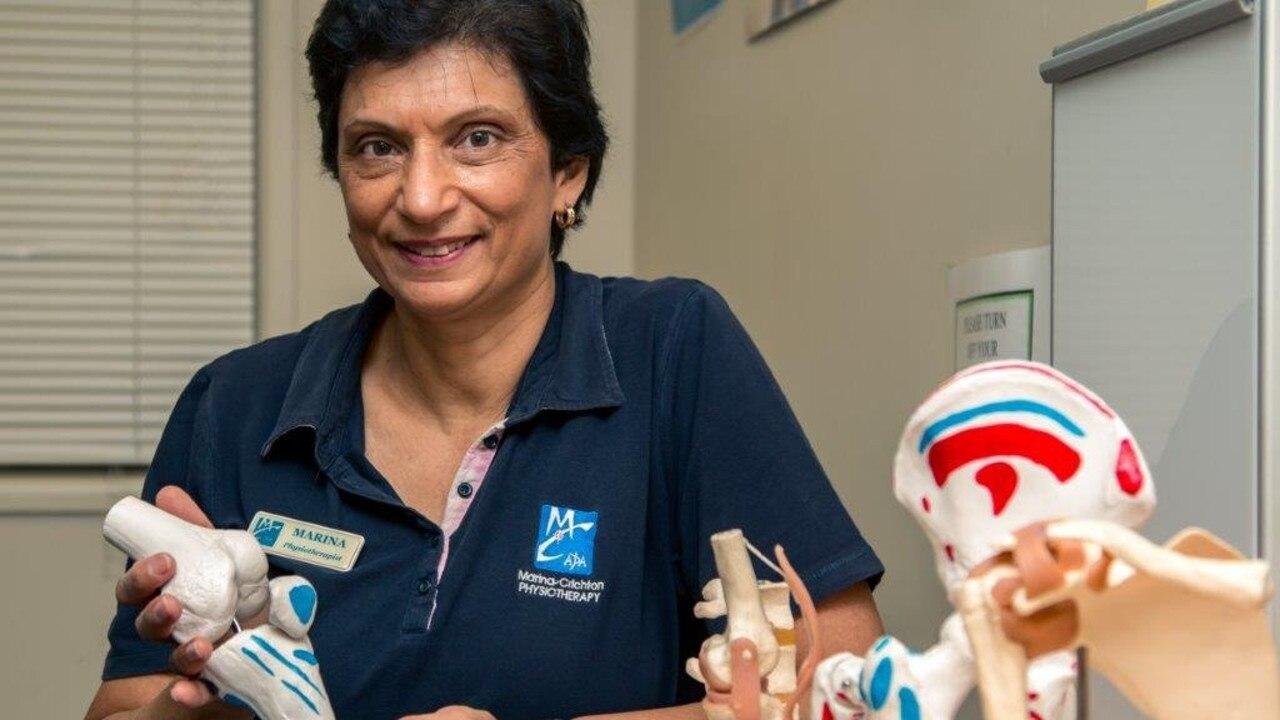 Marina Crichton, from Marina Crichton Physio – now My Care Physio and Therapy.