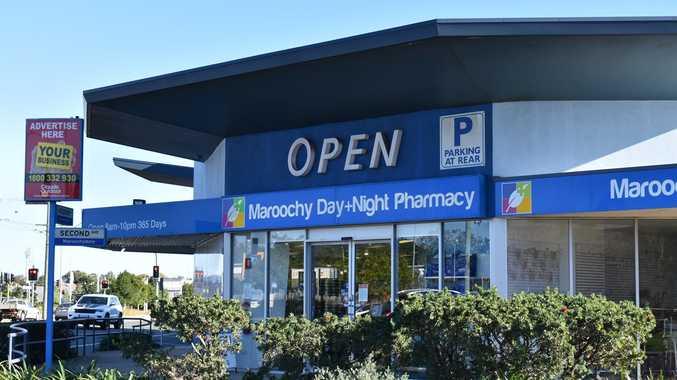 Replica shotgun used to threaten staff in pharmacy robbery