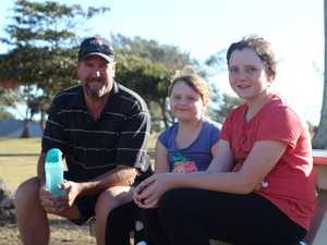 SCHOOL HOLIDAYS: Ashley, Olivia and Adele Schelberg