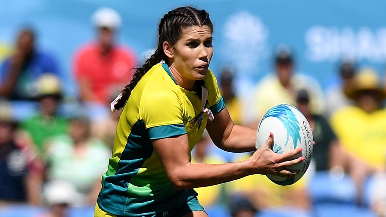 Rugby star Charlotte Caslick would be a great addition to the Roosters in the NRLW. Picture: Getty Images