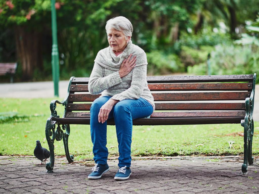 Researchers believe these menopausal symptoms could act as an early signal for a woman's future cardiovascular health. Picture: iStock