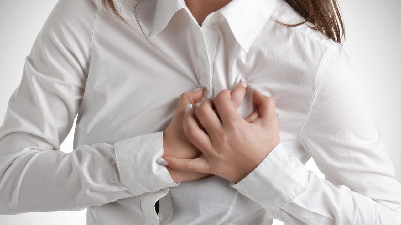 Women who suffer from hot flushes and night sweats post-menopause are 70 per cent more likely to have a heart attack, angina or stroke. Picture: iStock