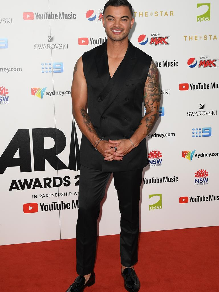 Guy Sebastian cut ties with the manager in November 2017. Picture: Dan Himbrechts/AAP