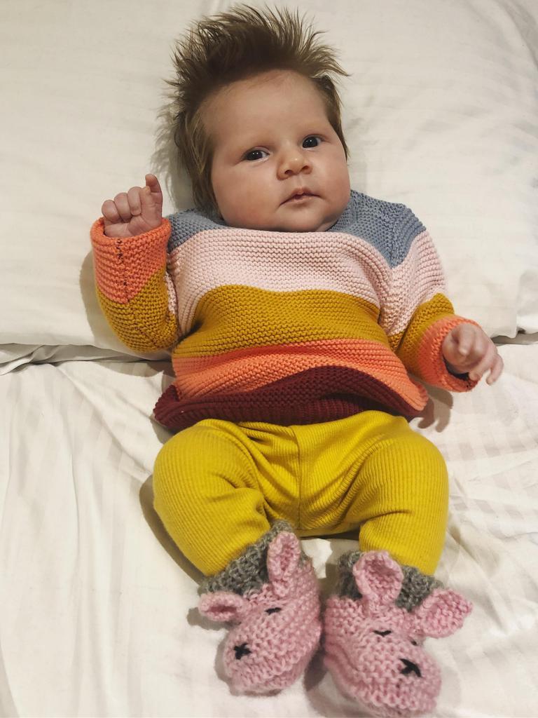 Haddie Filisetti was born May 12, 2020 weighing 3.25kg.