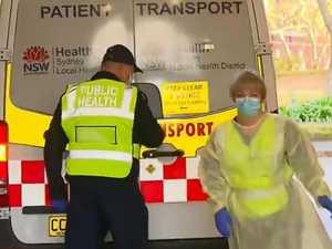 Train passenger arrives with symptoms