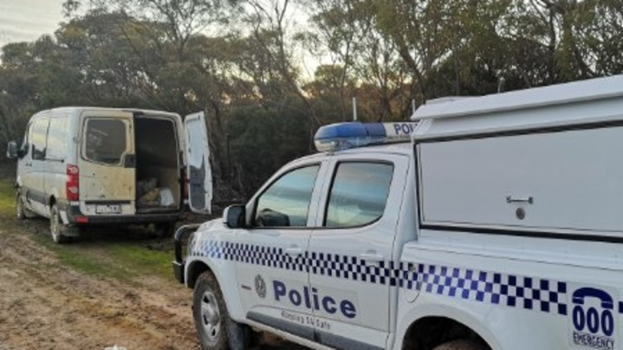 Two men have been busted breaking coronavirus restrictions after getting bogged while trying to cross a closed border.