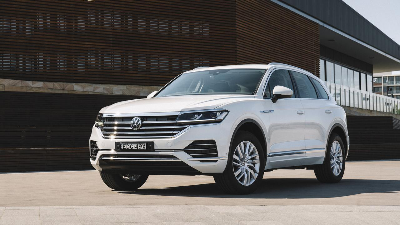 The Touareg is dosed up with luxury gear.