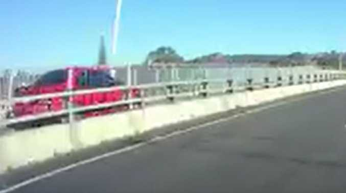 'Unbelievable': Wild motorway ride shocks drivers
