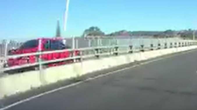 'Unbelievable': Wild motorway ride shocks drivers