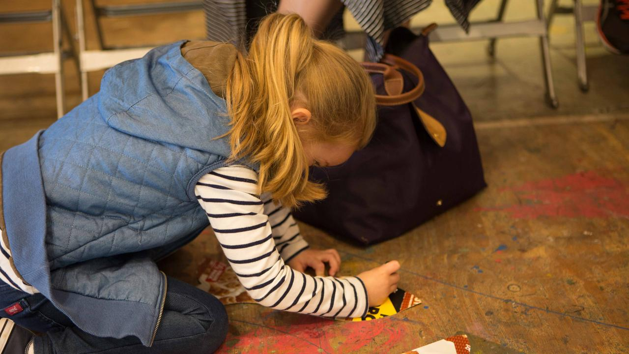 Rockhampton Art Gallery's Messy Mondays program has been the place to go for children under five and their parents, offering a friendly place to play and learn.