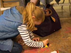 Kids get messy as popular art program moves online