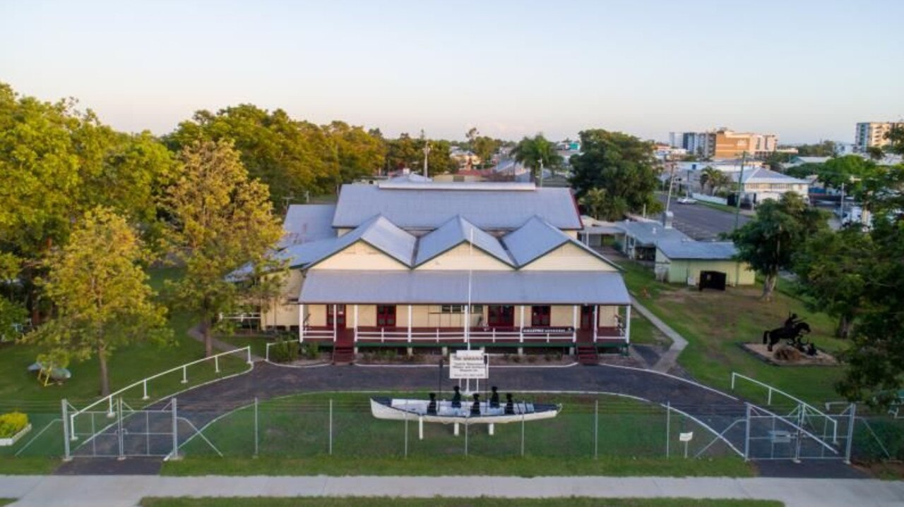 The Training Depot Drill Hall Complex at 40 Archer St, Rockhampton, was listed for sale with Knight Frank earlier this year.
