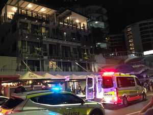 CBD shaken by tragic balcony fall