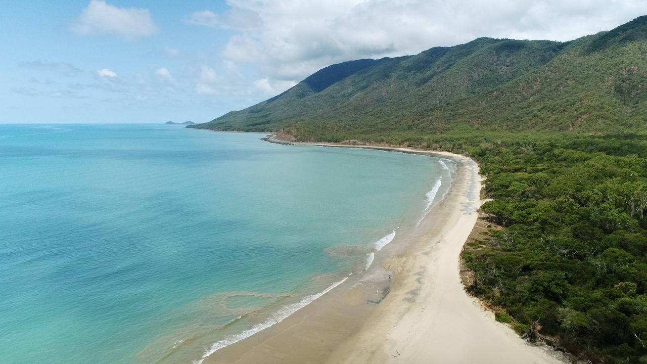 Wangetti beach in Far North Queensland. Picture: Brendan Radke