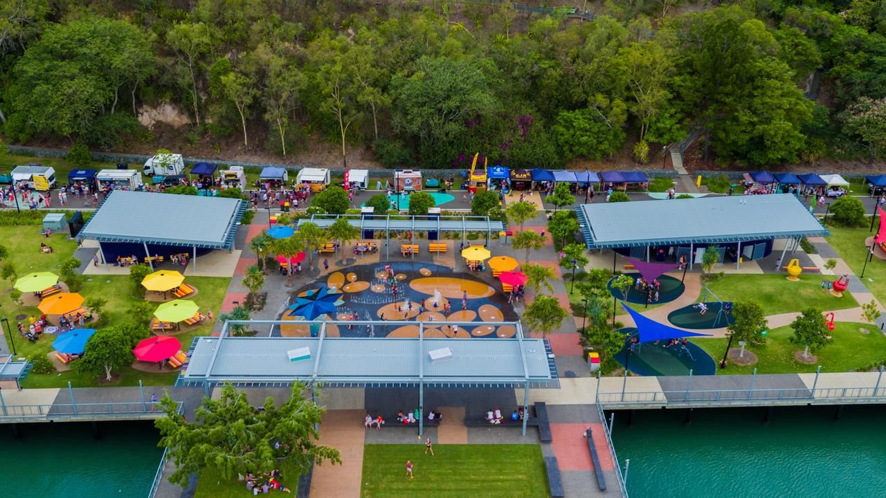 East Shores on Flinders Parade, Gladstone offers something for the whole family to enjoy and plenty to keep the kids occupied this holidays.