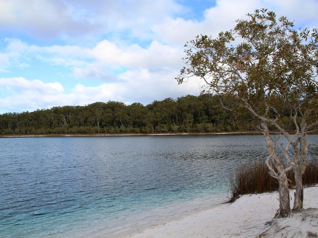 Lake McKenzie. Fraser Island. Picture: Shirley Sinclair