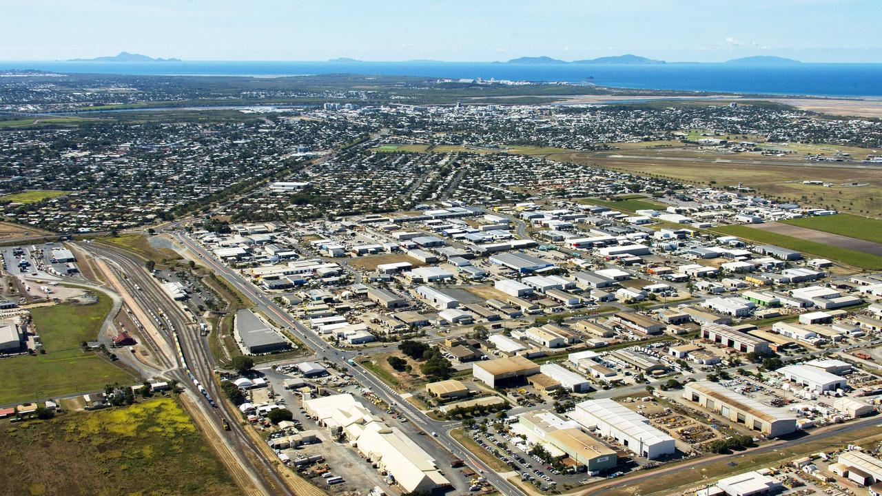 An aerial view of Paget.