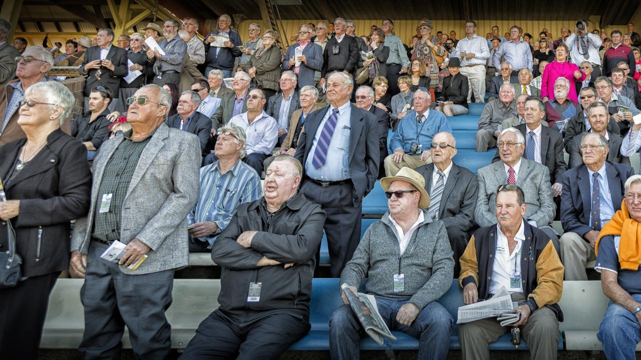 The crowd on Ramornie day are all eyes on the action. Photo Adam Hourigan / The Daily Examiner