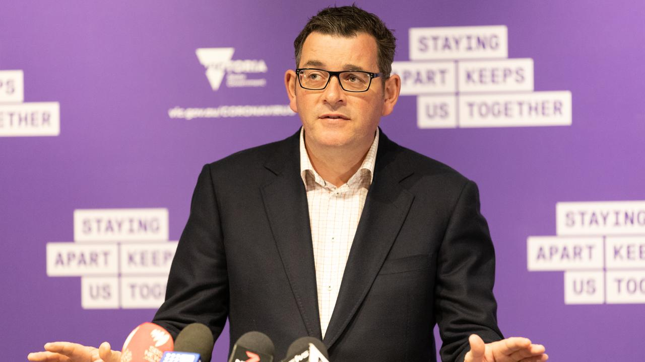 Premier of Victoria Daniel Andrews has announced a new round of cases overnight. (Photo by Asanka Ratnayake/Getty Images)