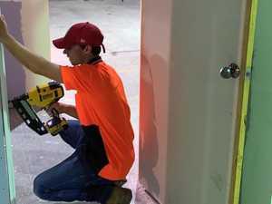 Mother-son master renovation skills