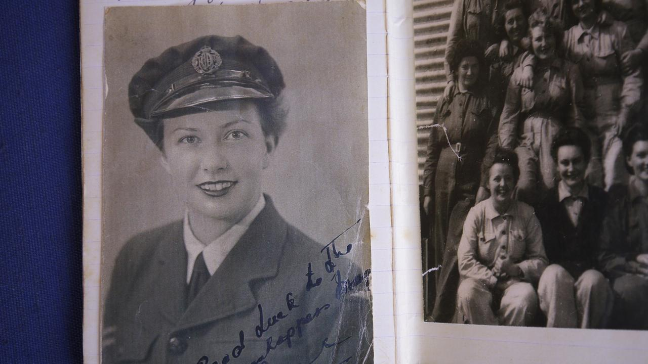 Margo Cooper joined the Women's Auxiliary Airforce.