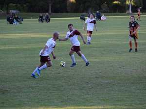 Action from the Coastal Premier League Round 1 clash