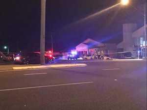 Sunshine Coast man dies after being hit by stolen car