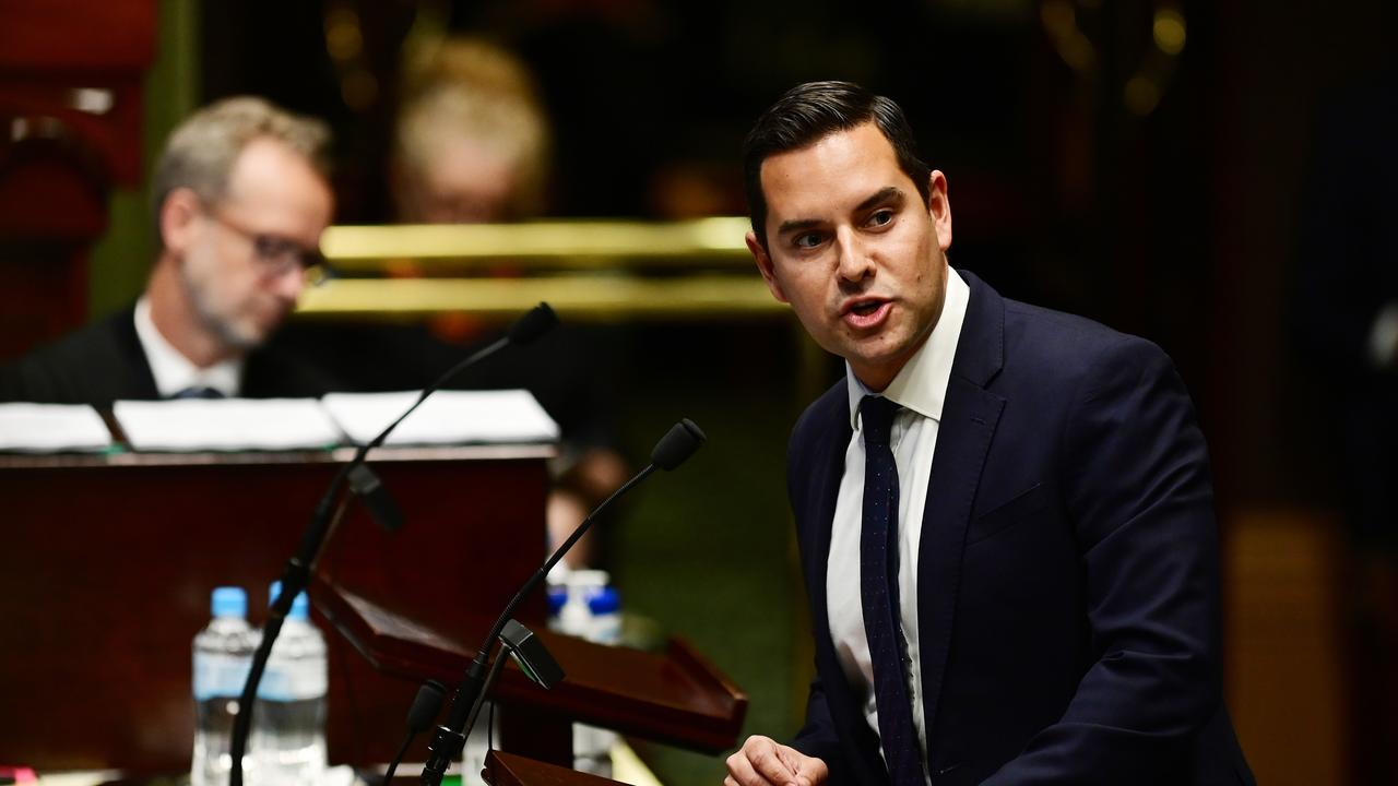 Independent MP Alex Greenwich is also taking his time as chair of the environment and planning committee. Picture: AAP Image/Joel Carrett