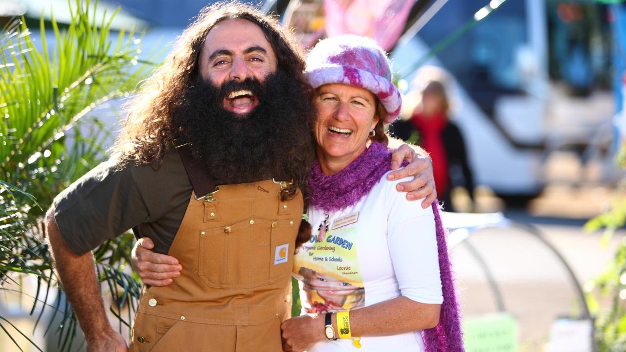 Queensland Garden Expo 2017 presenters Costa Georgiadis and Leonie Shanahan