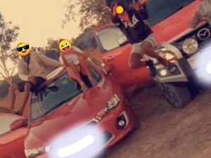 'F--- the police': Shocking footage of stolen car joy rides