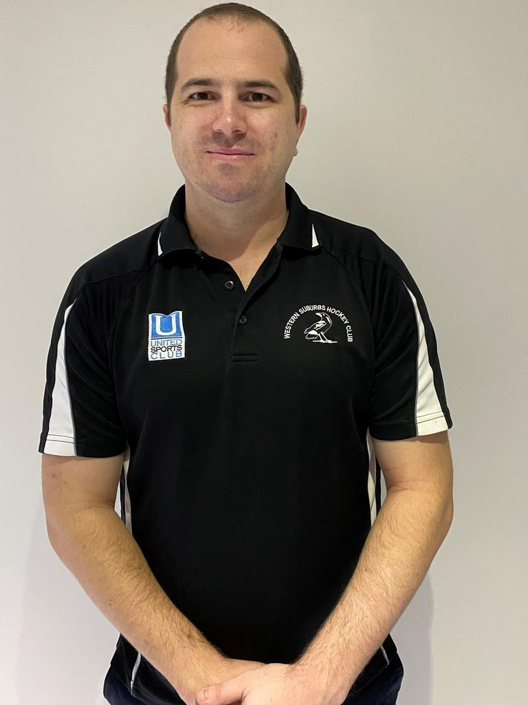 Wests hockey coach Michael Wiseman