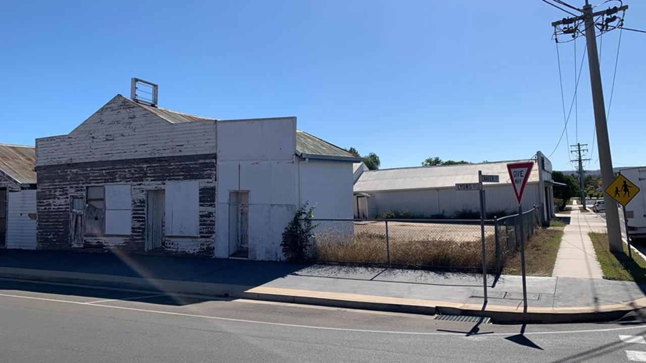 COUNCIL APPROVAL: The property at 9-11 Lyons Street will be going under the hammer in the coming months. Picture: Sam Turner