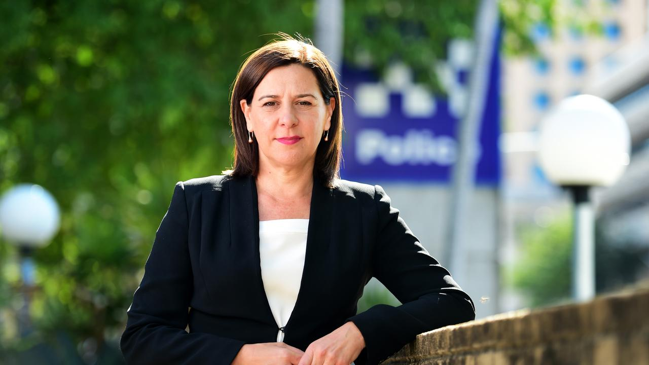 Opposition Leader Deb Frecklington plans to build four new drug rehabilitation centres in rural Queensland in elected in October. Picture: Alix Sweeney