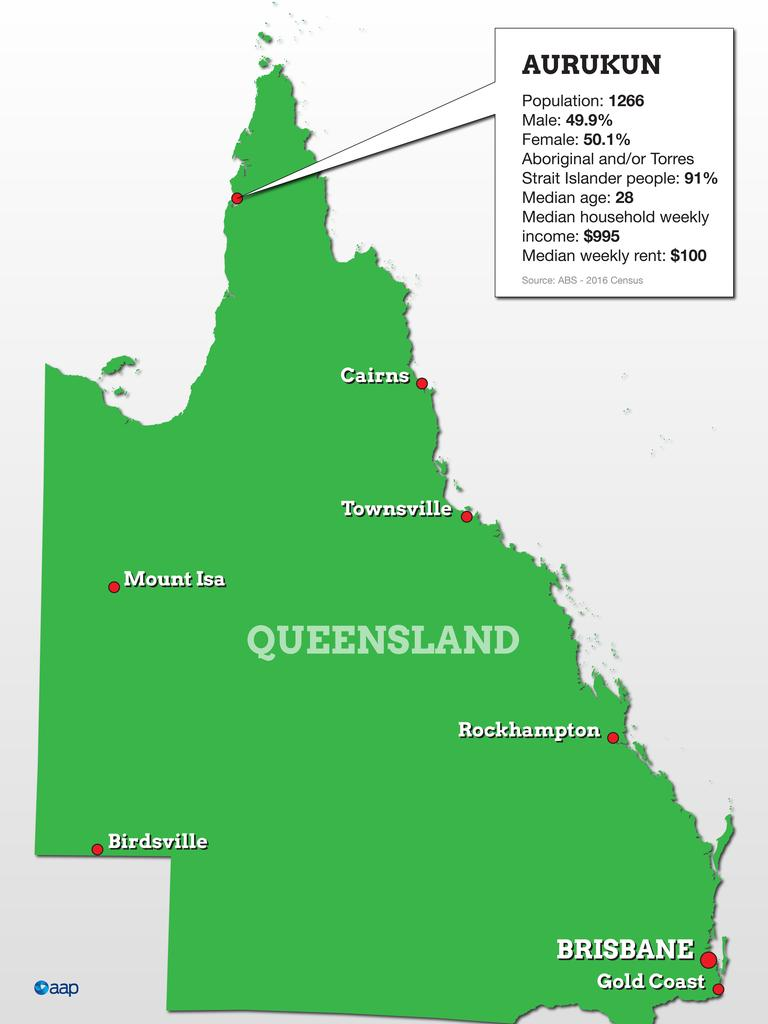 Aurukun is located in Western Cape York