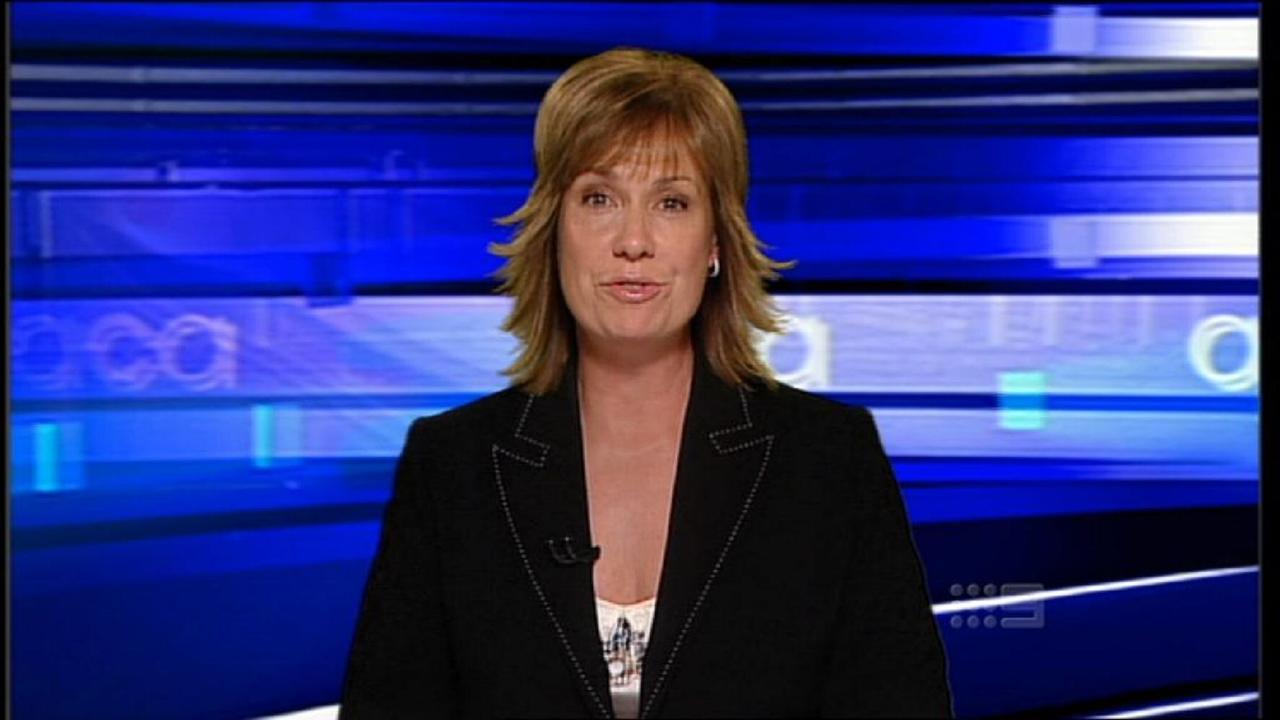 Tracy Grimshaw hosting A Current Affair.
