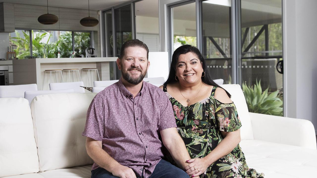 Carmen James 49, and her husband Keith James, 51, recently refinanced their home loan to save money. (Picture: Attila Csaszar)