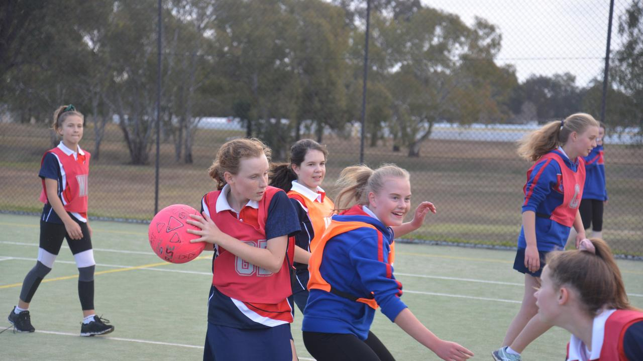 ON COURT: Young netballers across Warwick will be able to return to the court this season at a fraction of the cost to their parents. Picture: contributed