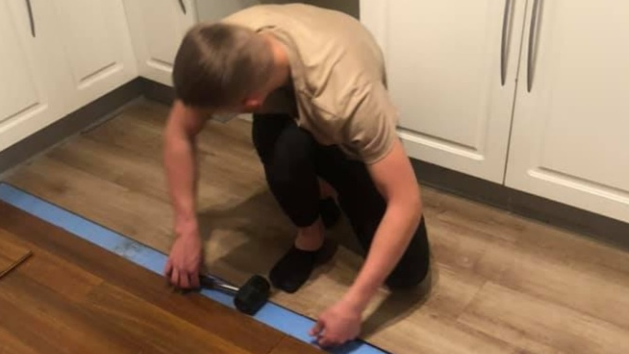 Teen transforms home in just three days using Bunnings materials.