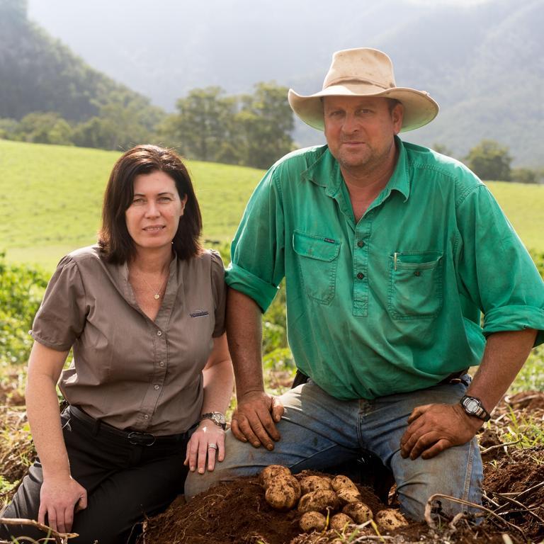 5. Wickham group. Pictured are potato growers Kerri and Haydn Lamb.