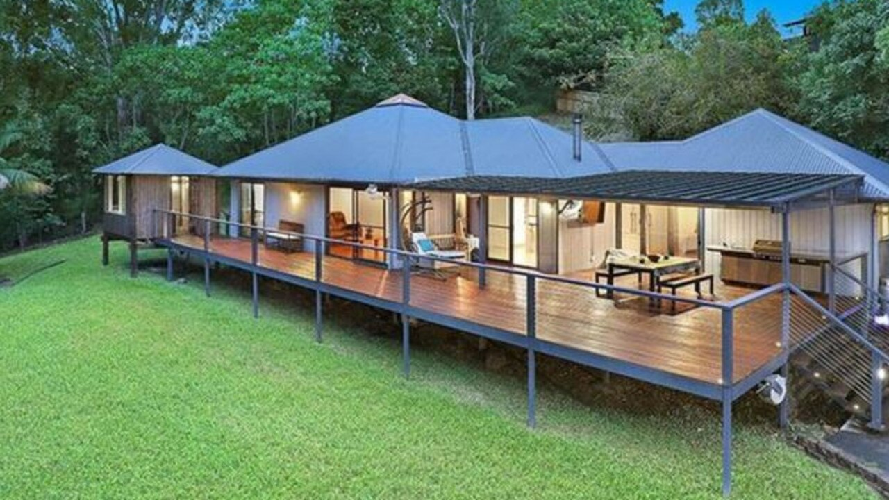 The Veronicas bought this property in Landsborough.