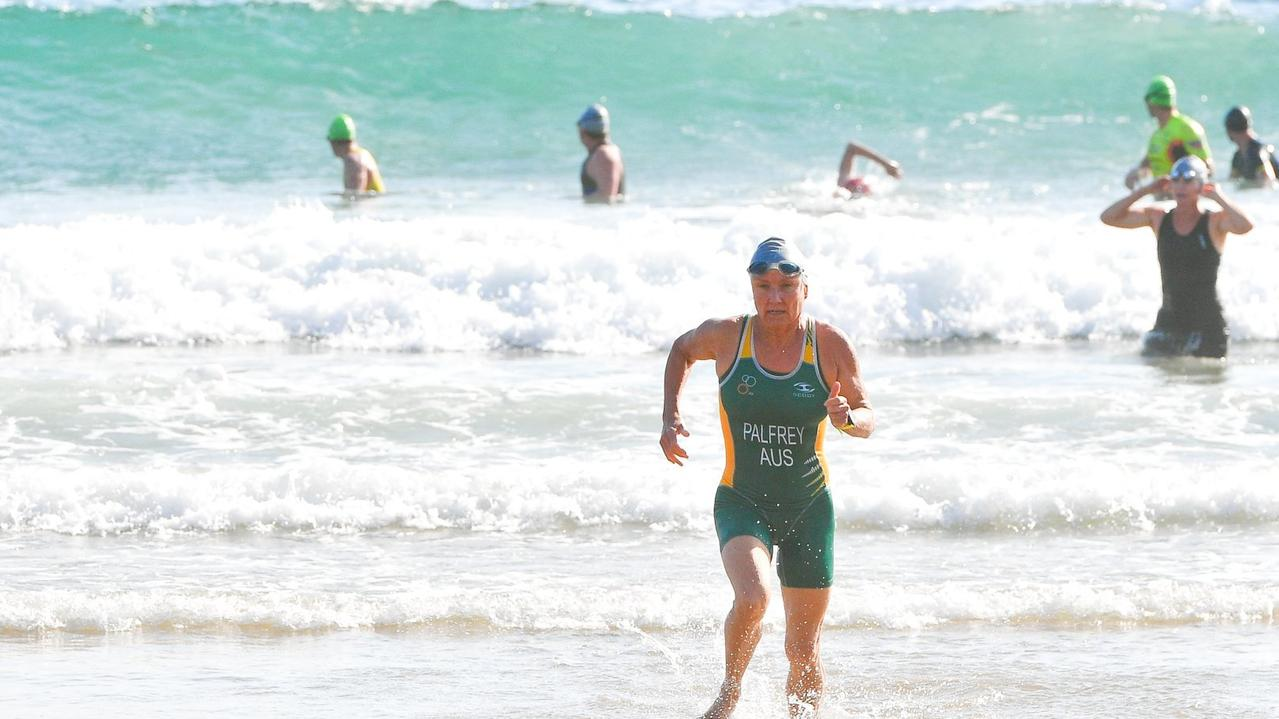 The 2020 Agnes Water Triathlon co-ordinator Garry Coleborn said the event being given the go ahead will be great for the town. Pictured: 2018 Agnes Water Triathlon.